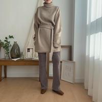 ✳︎予約販売✳︎belt SET pullover/2colors_nt0212