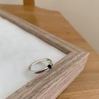 *予約販売*silver925 heart ring_na0061