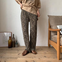 《予約販売》leopard rincl pants/2colors_np0192