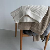 《予約販売》lib knit pants/3colors_np0479