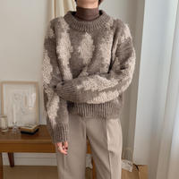 ✳︎予約販売✳︎dia knit/2colors_nt0200