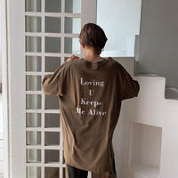 《予約販売》Loving tee/2colors_nt0580