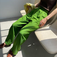 《green 数量限定!4月28日順次発送》【nokcha original】twill coloring pants/3colors_np0367
