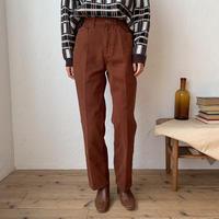 《予約販売》terracotta twill pants_np0303
