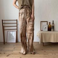 《予約販売》taidai slit pants /2colors_np0207
