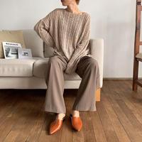 《予約販売》sheer cable knit/2colors_nt0591