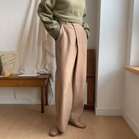 ✳︎予約販売✳︎wrap quality pants/2colors_np0122