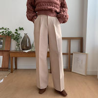 ✳︎予約販売✳︎warm daily wide pants_np0100