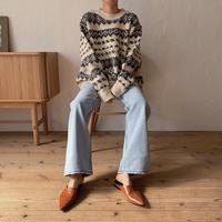 《予約販売》Nordic pattern knit_nt0692