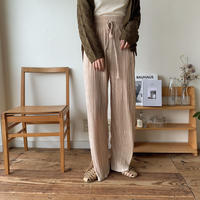 《予約販売》easy rincl slit pants/2 colors_np0170