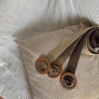 《予約販売》wood taste belt/3color_na0180