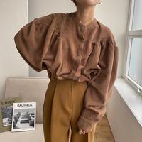 《予約販売》corduroy puff blouse_nt0722