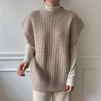 ✳︎予約販売✳︎detail knit vest/2colors_nt0127
