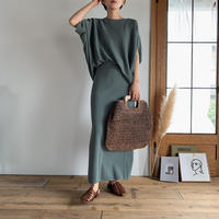 《予約販売》french knit setup/2colors _nt0501