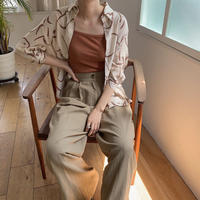 《予約販売》ennui half blouse_nt0395