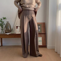 ✳︎予約販売✳︎center tuck pants/2colors_np0103