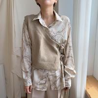 ✳︎予約販売✳︎marble blouse/2 colors_nt0144