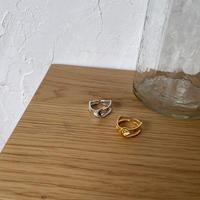 《予約販売》silver925 nuance accent ring/2colors_na0250