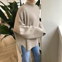 ✳︎予約販売✳︎slit big knit/2colors