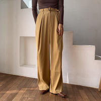 《予約販売》belt set yellow pants_np0292