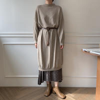 ✳︎予約販売✳︎cocoon knit ops/2colors_nd0021