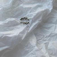 ✳︎予約販売✳︎silver925 braid ring