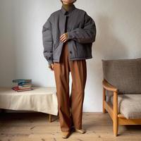 《予約販売》warm stand collar jacket/2colors_no0128