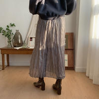 ✳︎予約販売✳︎dot sheer skirt/2colors_ns0027