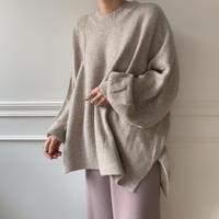 ✳︎予約販売✳︎soft big knit/2colors__nt0118