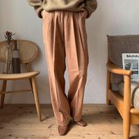 《予約販売》twill semi matto pants/2colors_np0302