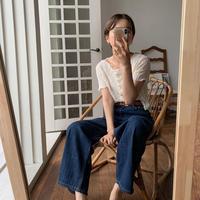 《予約販売》poodle minimal  blouse/2colors_nt0487