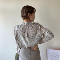 《予約販売》marble no collar blouse/2colors_nt0344