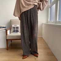 《予約販売》velvet unique pattern pants/2colors_np0287