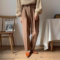 《予約販売》marc slacks pants/2colors_np0299