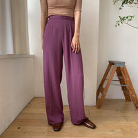 《予約販売》coloring toromi pants/2colors_np0249
