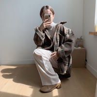 ✳︎予約販売✳︎warm check jk_no0019