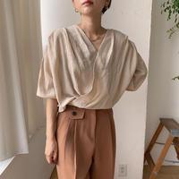 《予約販売》cache-coeur rincl blouse/2colors_nt0558