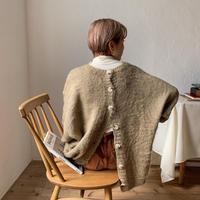 《予約販売》2way bottan over knit_nt0698