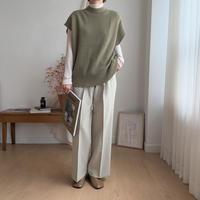 ✳︎予約販売✳︎waffle knit vest/2colors_nt0164