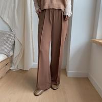 ✳︎予約販売✳︎center press pants/2colors_np0063