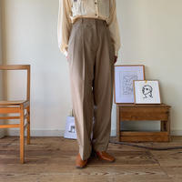 《予約販売》s/s daily  wide pants /2colors_np0162
