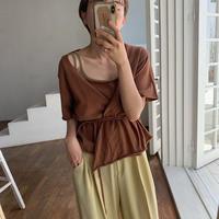 《予約販売》2set minimal summer knit/2colors_nt0452