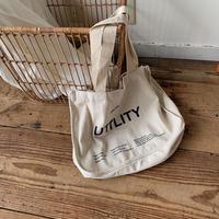 《予約販売》lettering eco bag _na0149