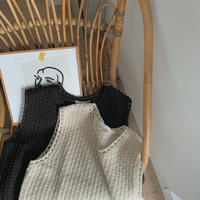 《予約販売》detail knit vest/2colors_nt0636