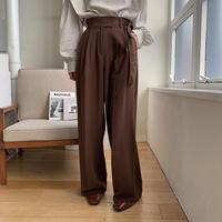《予約販売》strap wide pants/2colors_np0255