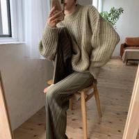 《予約販売》casual over knit/2colors_nt0607