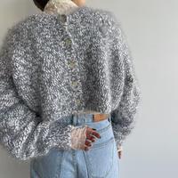 《予約販売》2way minimal knit cardigan/2colors_nt1084
