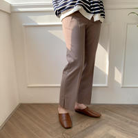 slit slacks/2colors