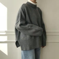 ✳︎予約販売✳︎wool blend knit/4colors_nt0137