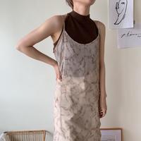 《予約販売》back cross knit tank top/2 colors_nt0370